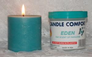 160g supermarket eden candle