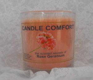 Rose geranium - 230 g tumbler candle